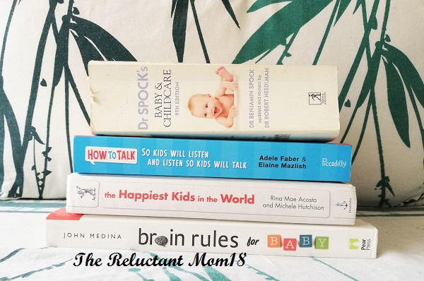Parenting Books that I Have Read and Enjoyed
